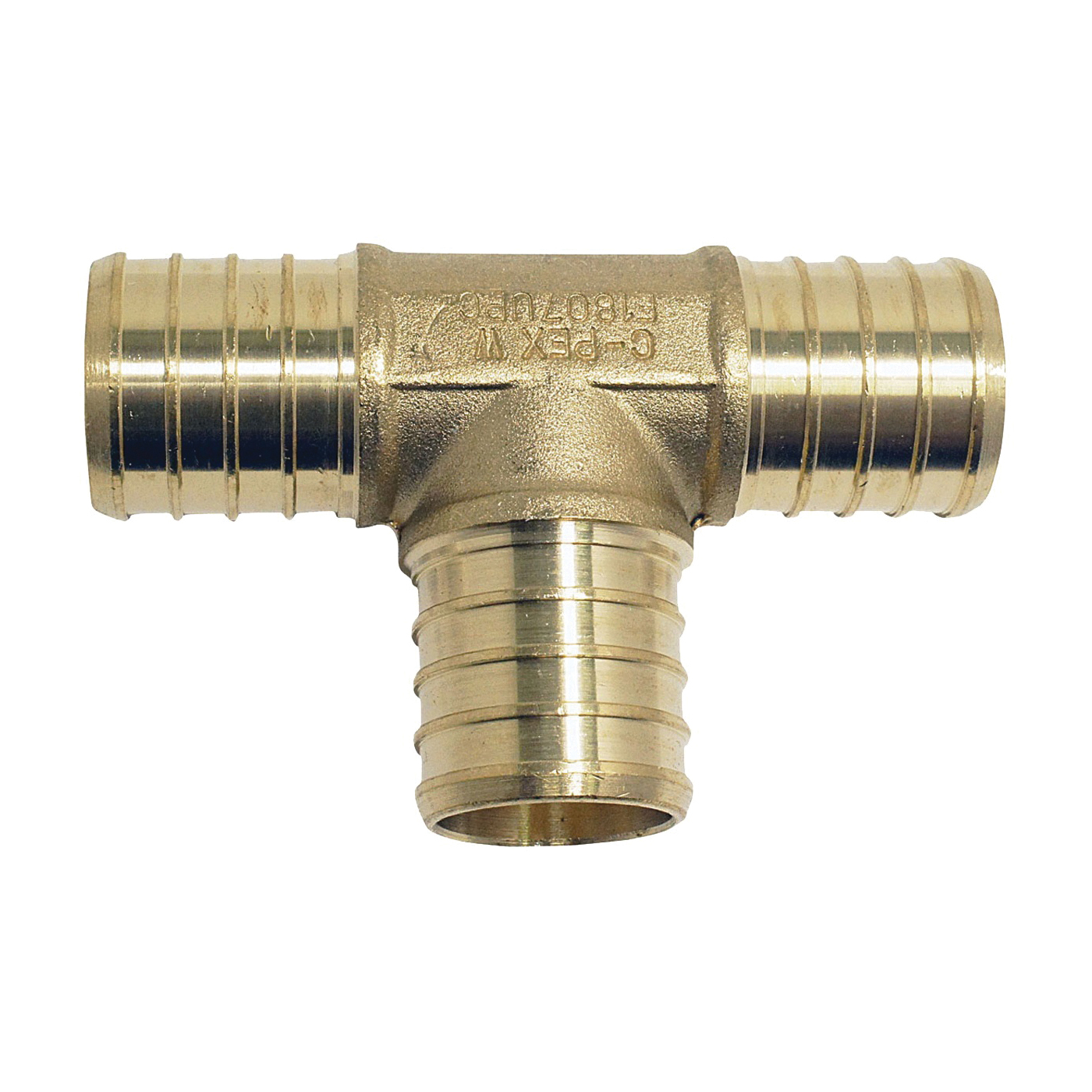Picture of Apollo ApolloPEX APXT3410PK Pipe Tee, 3/4 in Barb Run Connection, 3/4 in Barb Branch Connection