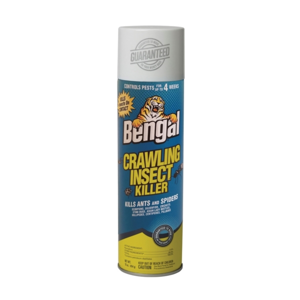 Picture of Bengal 93500 Crawling Insect Killer, Spray Application, Indoor, Outdoor, 16 oz Package, Aerosol Can