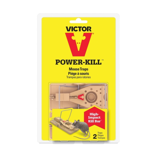 Picture of Victor Power-Kill M142S Mouse Trap, 2.19 in L, 5.44 in W, 8.81 in H