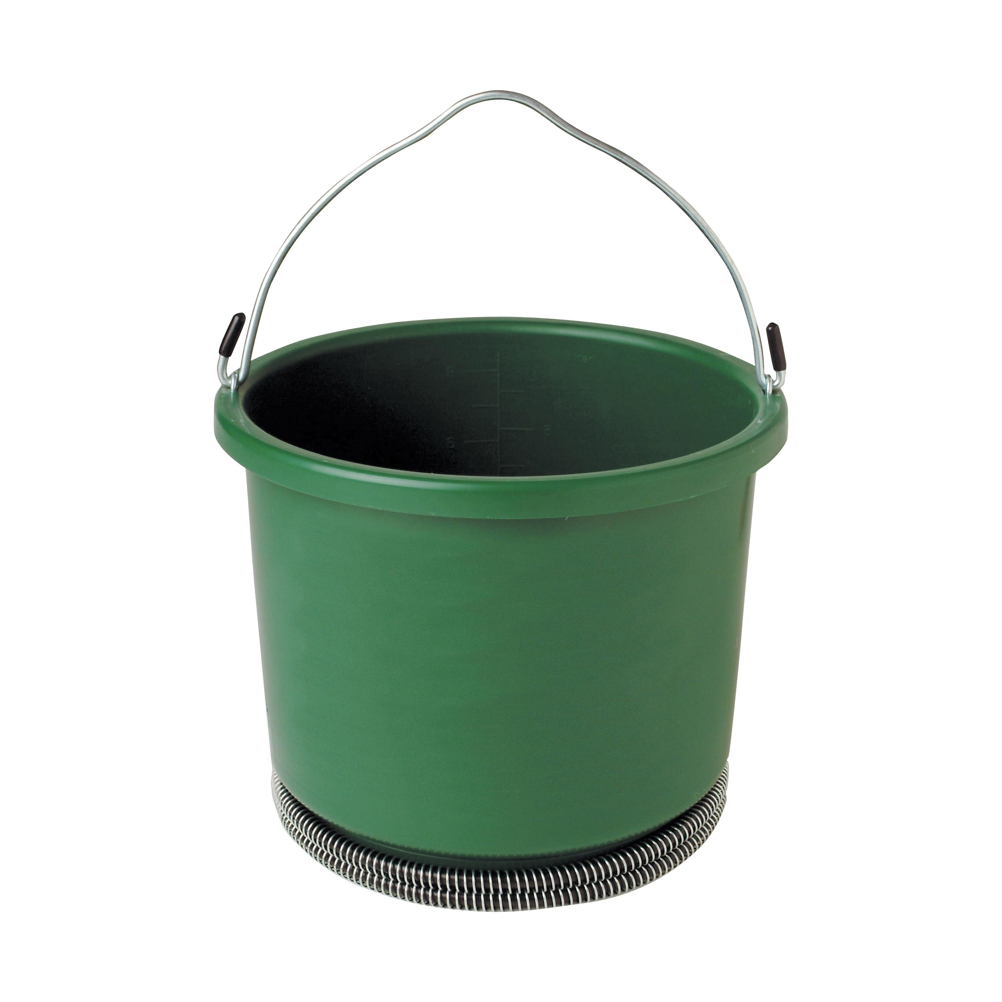 Picture of FARM INNOVATORS HB-60 Heated Bucket, Plastic, Green