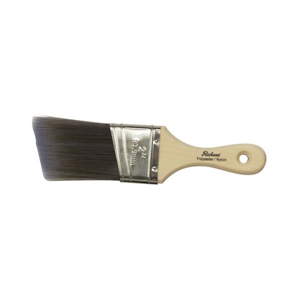 Picture of HYDE Richard Connoisseur Accessible 80822 Paint Brush, Nylon/Polyester Bristle, Short Handle