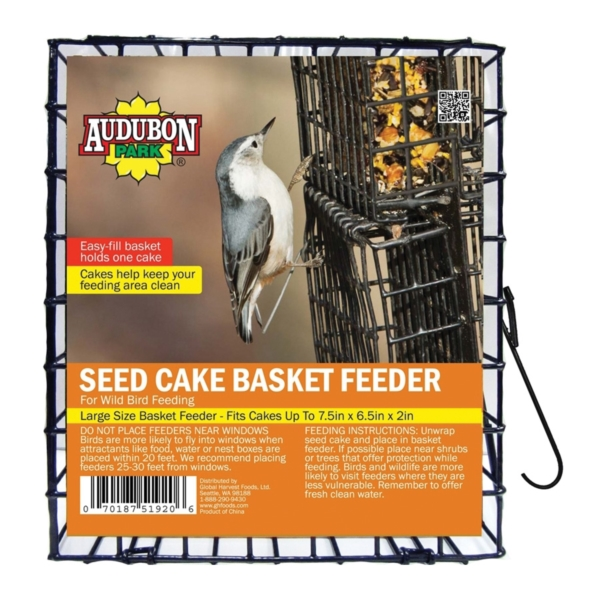Picture of Audubon Park 11236 Seed Cake Basket Feeder