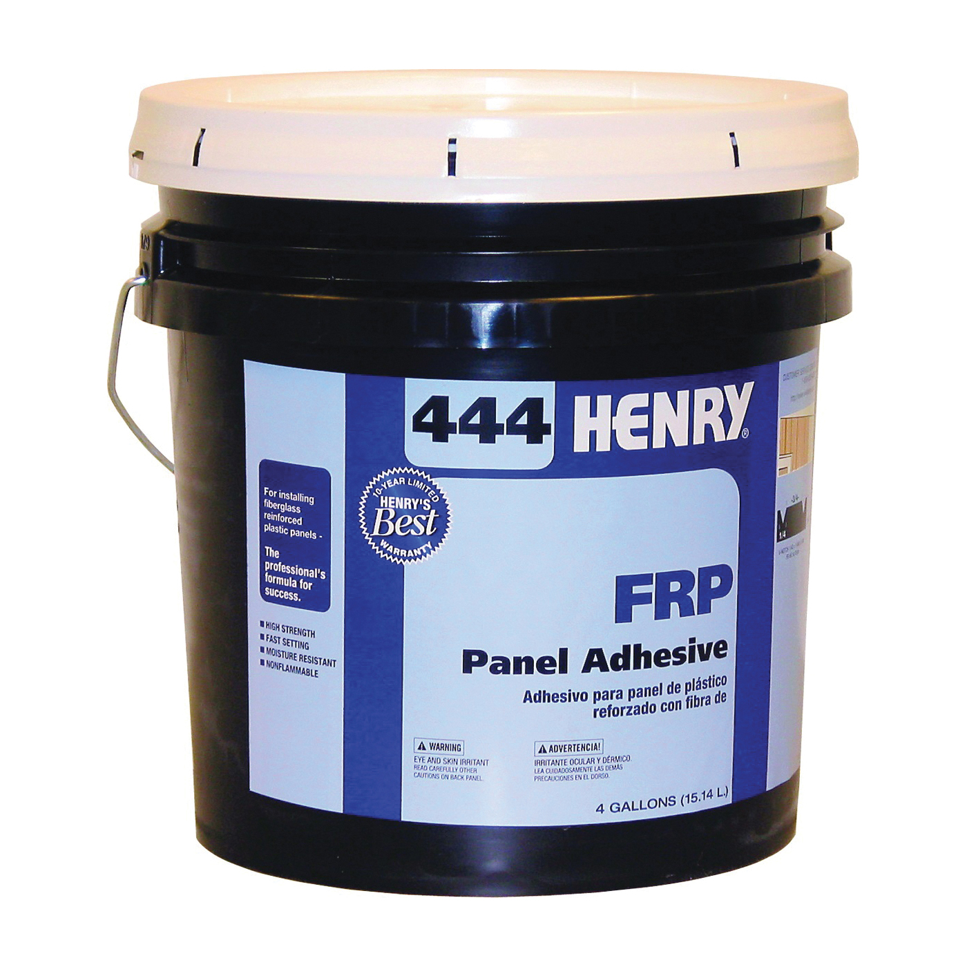 Picture of HENRY 12118 Panel Adhesive, Off-White, 4 gal Package, Pail