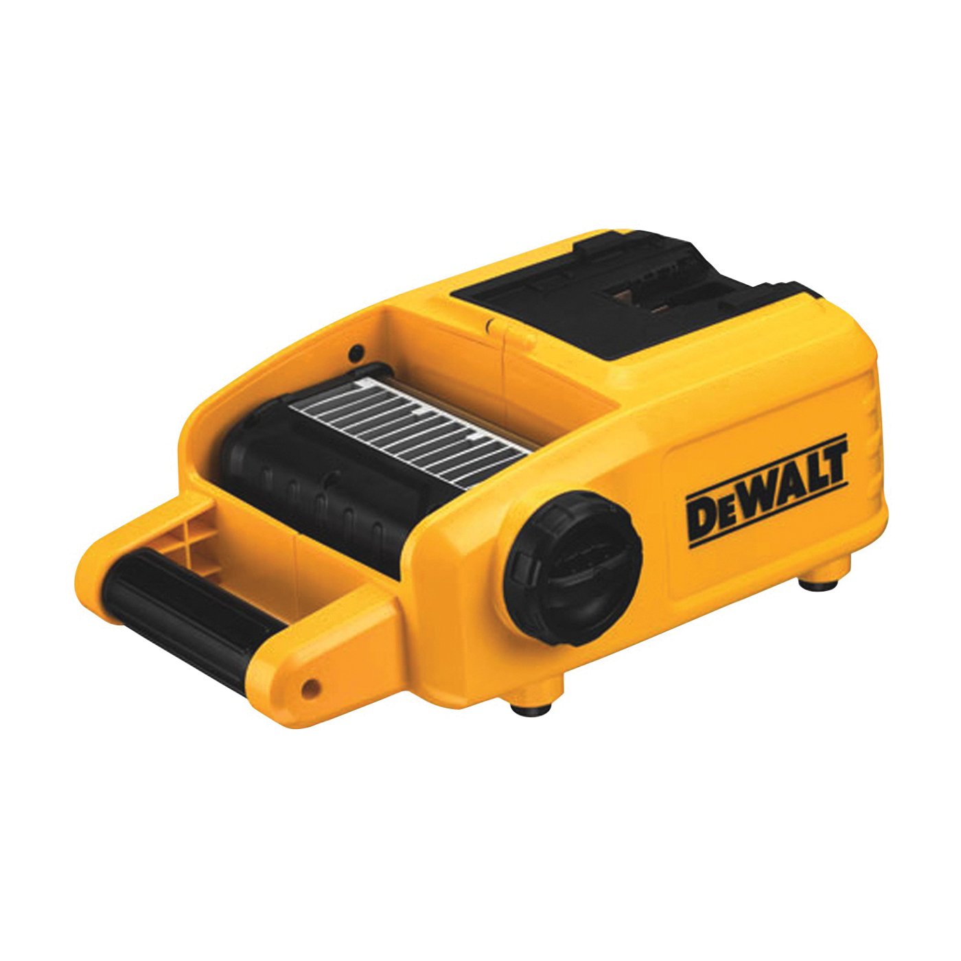 Picture of DeWALT DCL060 Cordless Worklight, 20 V, LED Lamp, 1001 to 5000 Lumens, 6100 K Color Temp, Black/Yellow