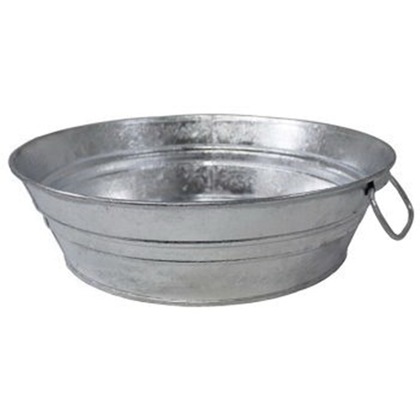 Picture of Behrens 105LFT Low Flat Tub, 3 gal Capacity, Steel