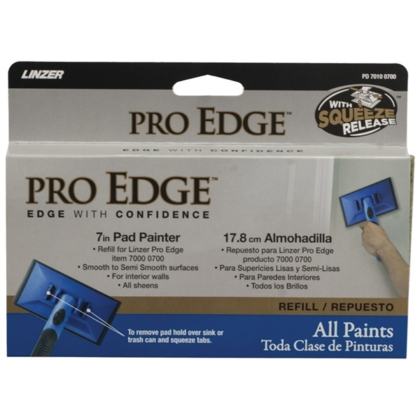 Picture of Linzer PD7010-7 Pad Edge Refill, 7 in L Pad