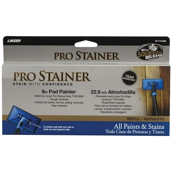 Picture of Linzer PD7110-9 Pad Painter Refill, 9 in L Pad