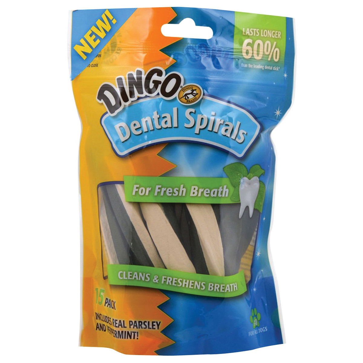Picture of Dingo DN-99108PDQ Dog Dental Treats
