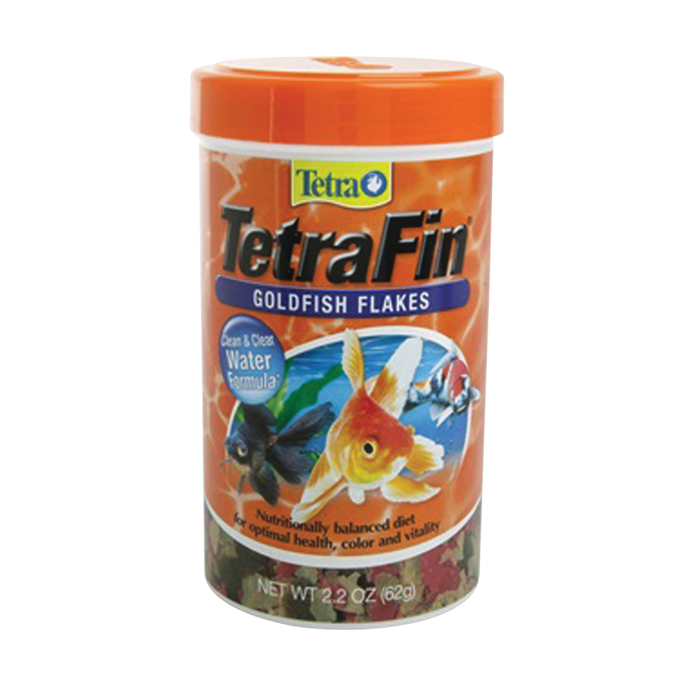 Picture of Tetra TetraFin 77127 Goldfish Flakes, Flakes, 2.2 oz Package