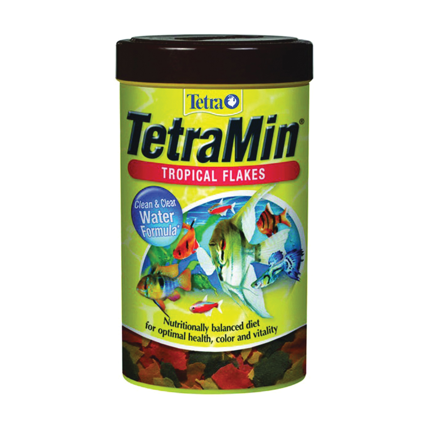 Picture of Tetra TetraMin 77104 Tropical Fish Flakes, Flakes, 2.2 oz Package