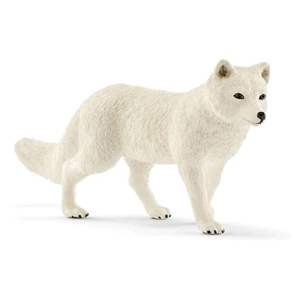 Picture of Schleich-S 14805 Arctic Fox Figurine, 3 to 8 years, Arctic Fox, Plastic
