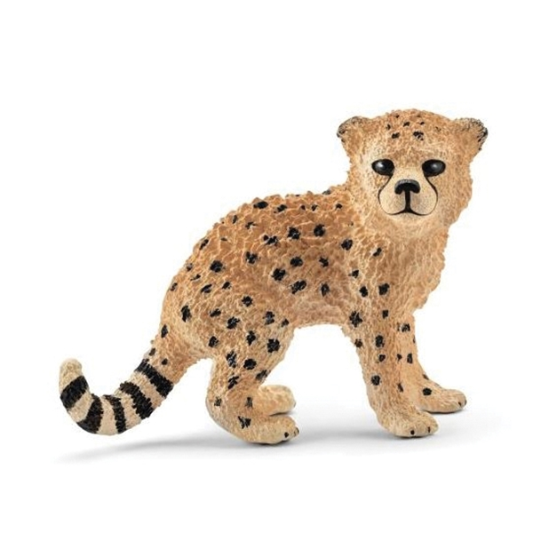 Picture of Schleich-S 14747 Cheetah Cub Figurine, 3 to 8 years, Cheetah Cub, Plastic