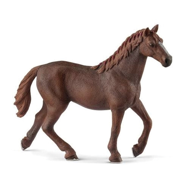 Picture of Schleich-S 13855 Thoroughbred Mare Figurine, Eng Thoroughbred Mare, Plastic