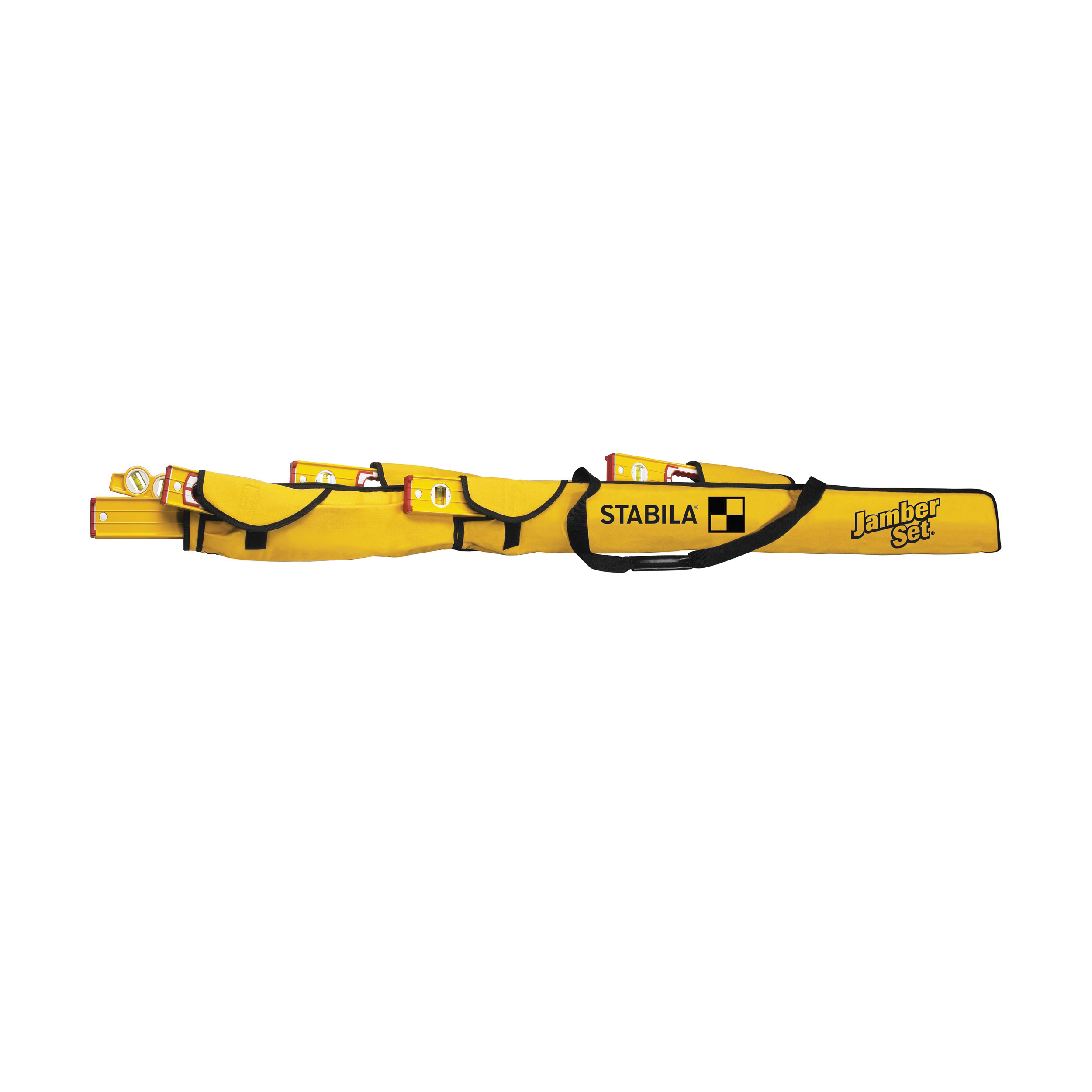 Picture of Stabila 30025 Carrying Case, 80 in H, 6 -Pocket, Nylon