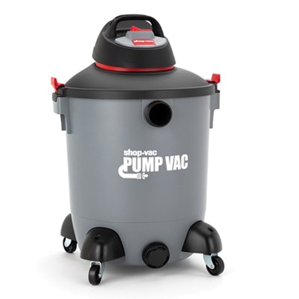 Picture of Shop-Vac 5822400 Pump Utility Wet/Dry Vacuum, 14 gal Vacuum, Cartridge Filter, 6 hp, 120 V