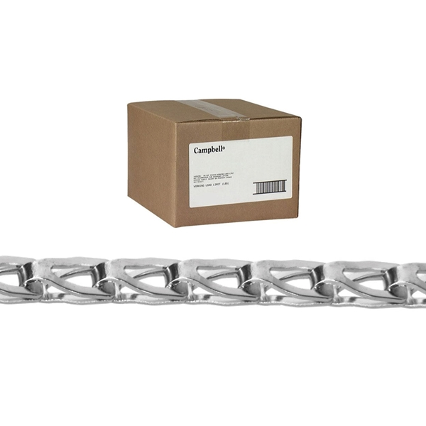 Picture of Campbell T0880844 Sash Chain, #8 Trade, 100 ft L, 75 lb Working Load, Carbon Steel, Copper Glo, Box