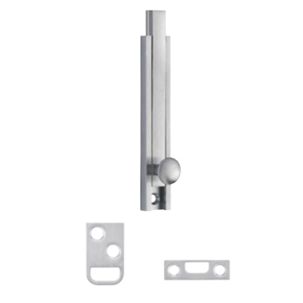 Picture of Schlage Ives 40B10B4 Light-Duty Surface Bolt, Brass, Oil-Rubbed Bronze