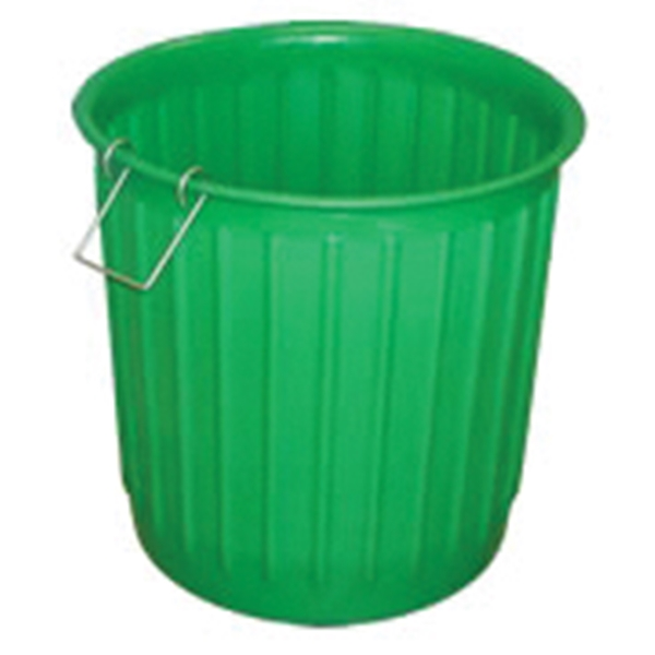 Picture of CHEM-TAINER Carry Barrel CBR60XAO-W1H Landscape Container, 60 gal Capacity, Polyethylene, Green