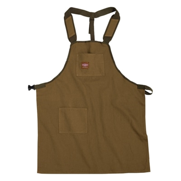 Picture of Bucket Boss 80300 SuperShop Apron, 52 in Waist, Fabric, Brown/Green, 2 -Pocket