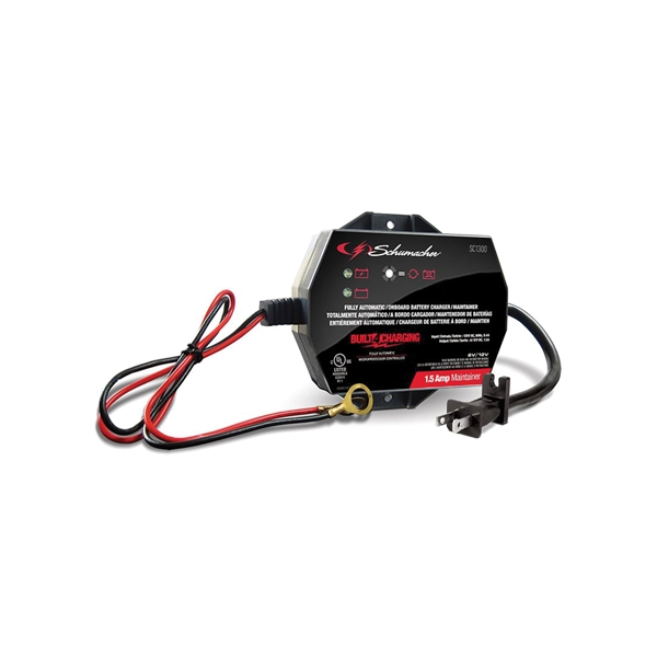 Picture of Schumacher SC1300 Battery Maintainer, 6/12 V Output, AGM Battery