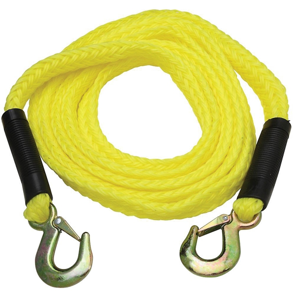 Picture of National Hardware N264-036 Tow Rope, 13 ft L, Polypropylene/Steel, 2000 lb Working Load