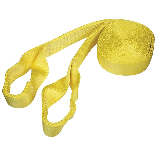 Picture of National Hardware N264-051 Tow Rope, 20 ft L, Nylon, 4000 lb Working Load