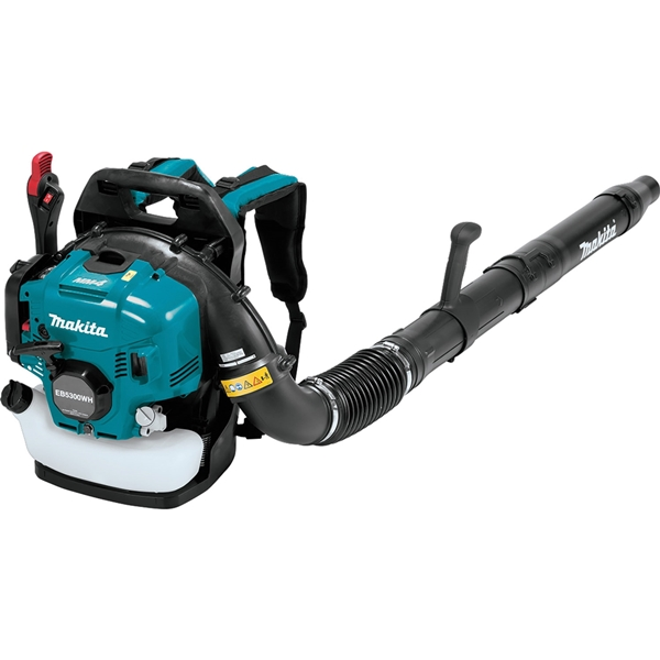 Picture of Makita EB5300WH Backpack Blower, Unleaded Gas, 52.5 cc Engine Displacement, 4-Stroke Engine, 516 cfm Air