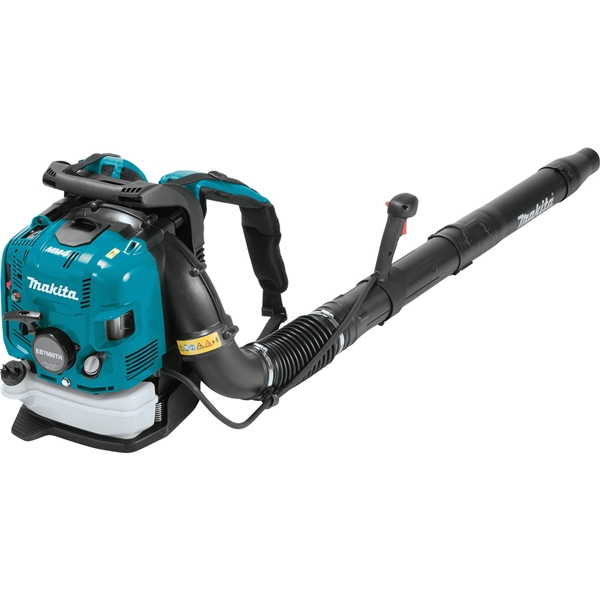 Picture of Makita EB7660TH Backpack Blower, Unleaded Gas, 75.6 cc Engine Displacement, 4-Stroke Engine, 706 cfm Air