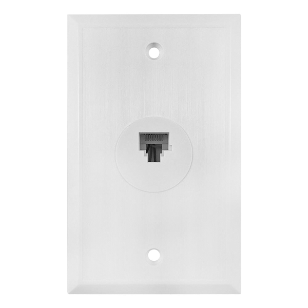Picture of Amerelle VW6EW Wallplate, White, Flush Mounting