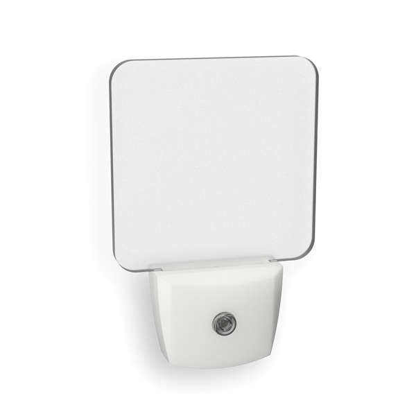 Picture of AmerTac NL-SCRN Translucent Screen Night Light, 120 V, 0.5 W, LED Lamp, Warm White Light, 2 Lumens