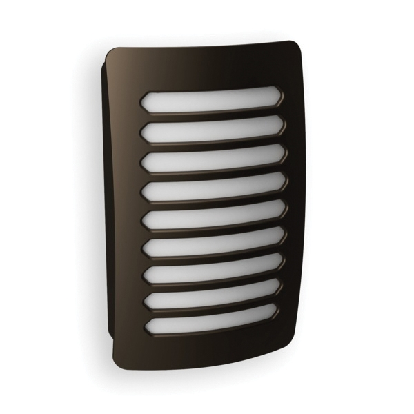 Picture of AmerTac Louver Decoplug NL-DPLV-N Night Light, 120 V, 0.9 W, LED Lamp, Warm White Light, 2 Lumens