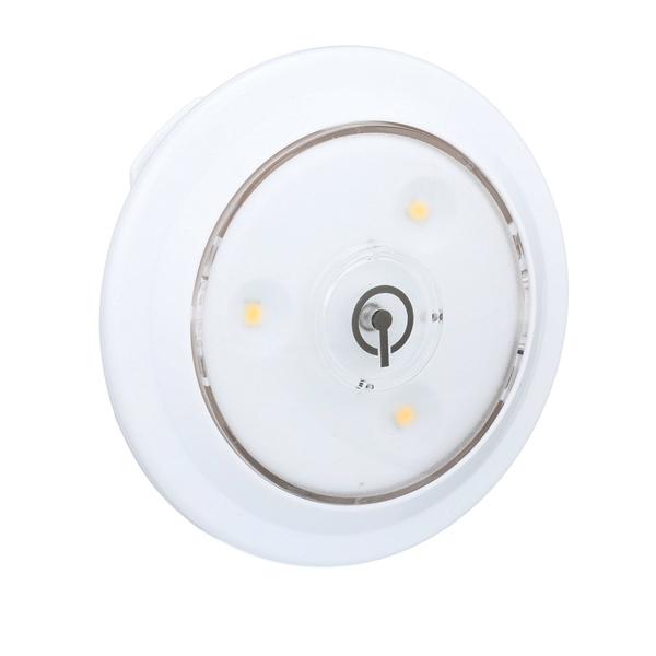 Picture of AmerTac LPL622WRC Accent Puck Light, LED Lamp, 55 Lumens, 3000 K Color Temp, White