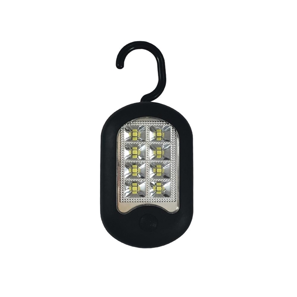 Picture of AmerTac LBUTIL1000 Utility Light, AAA Battery, Alkaline Battery, LED Lamp, 100 Lumens, 15 to 20 hr Run Time, Black