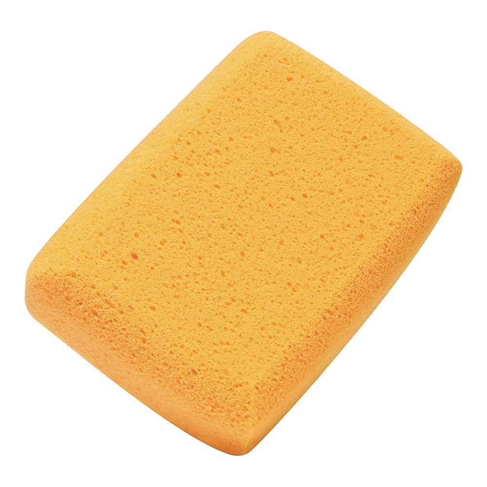 Picture of M-D 49152 Tile Cleaning Sponge, 7 in L, 5 in W, Yellow
