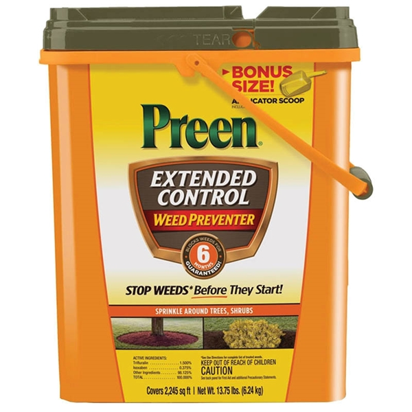 Picture of Preen 24-64095 Weed Control and Preventer, 13.75 lb Package