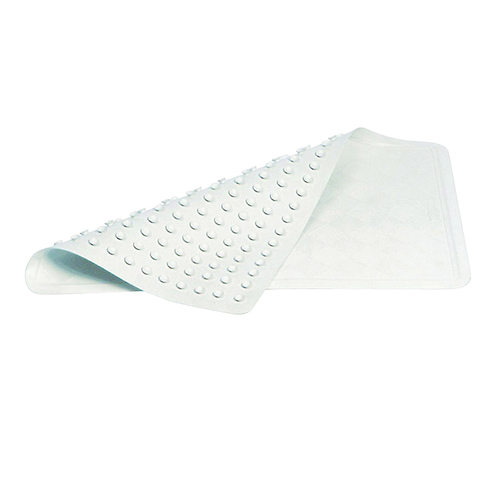 Picture of Rubbermaid 1982724 Bath Mat, 22-1/2 in L, 14 in W, Vinyl, White