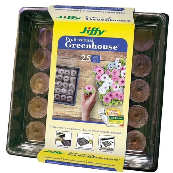 Picture of Jiffy J425ST-16 Greenhouse Starter Kit, 25 -Piece