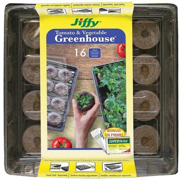 Picture of Jiffy J616ST-11 Seed Starter Kit, 16 -Piece