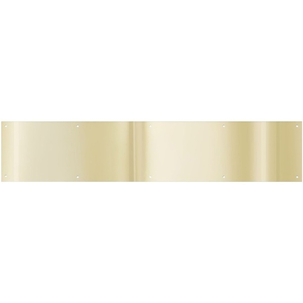 Picture of National Hardware N270-308 Kickplate, 34 in L, 8 in W, Brass