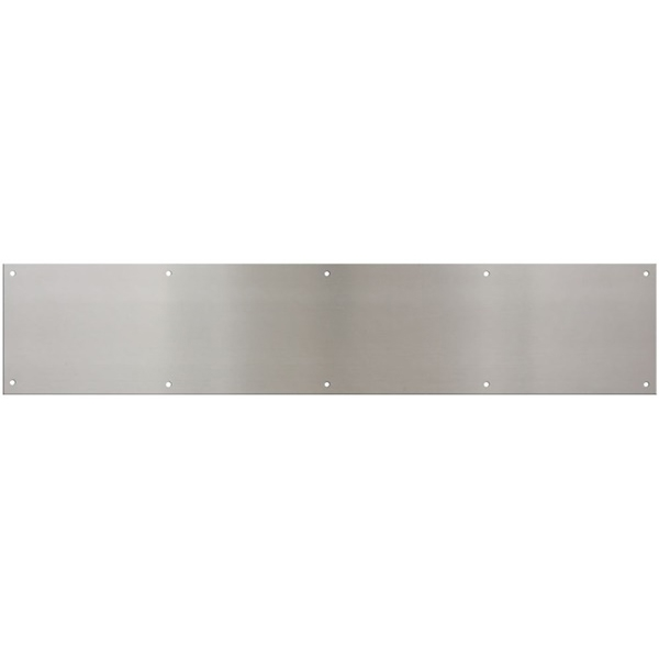 Picture of National Hardware N270-314 Kickplate, 30 in L, 6 in W, Satin Nickel