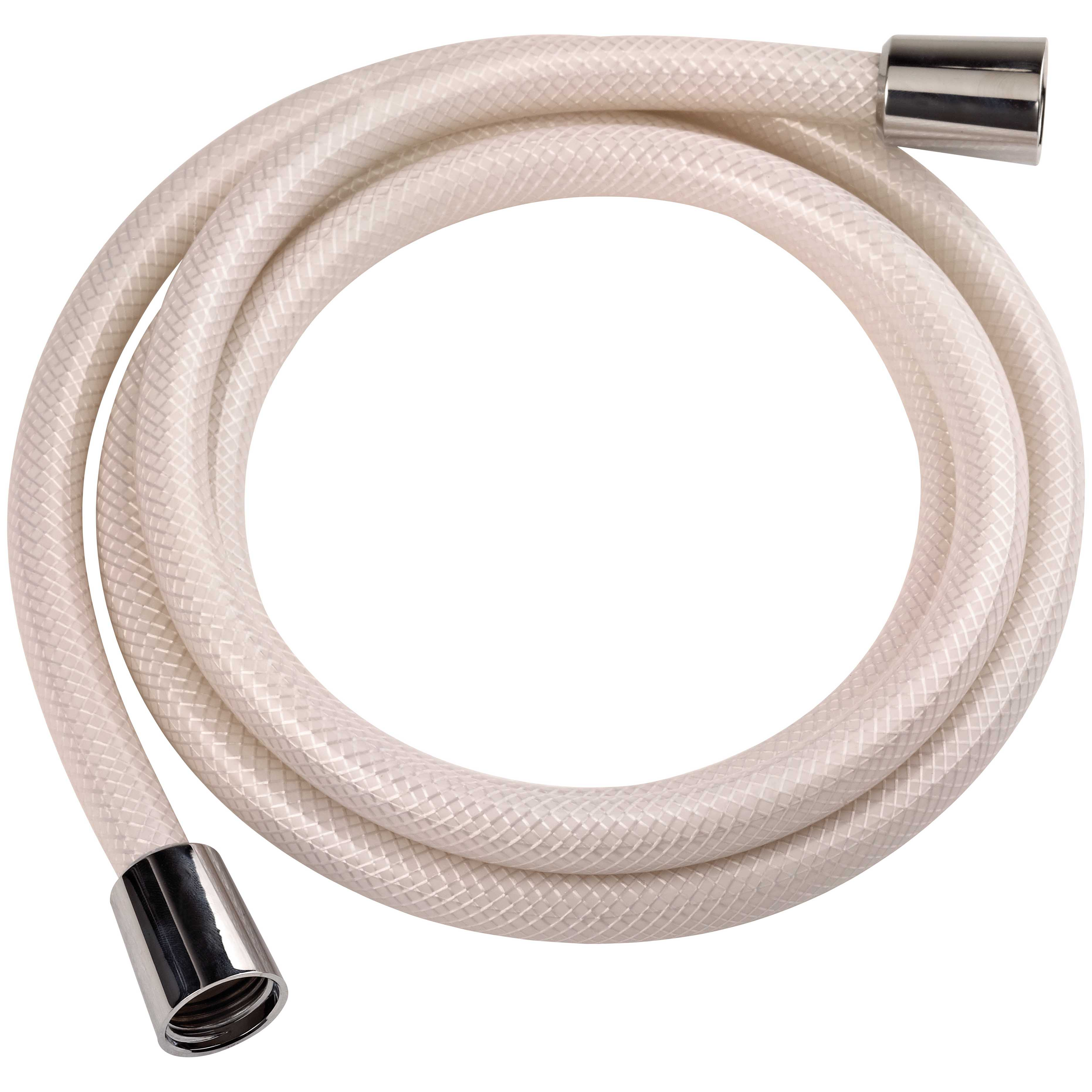 Picture of Boston Harbor B42014 Shower Hose with Hex Nut, 72 in L Hose, PVC