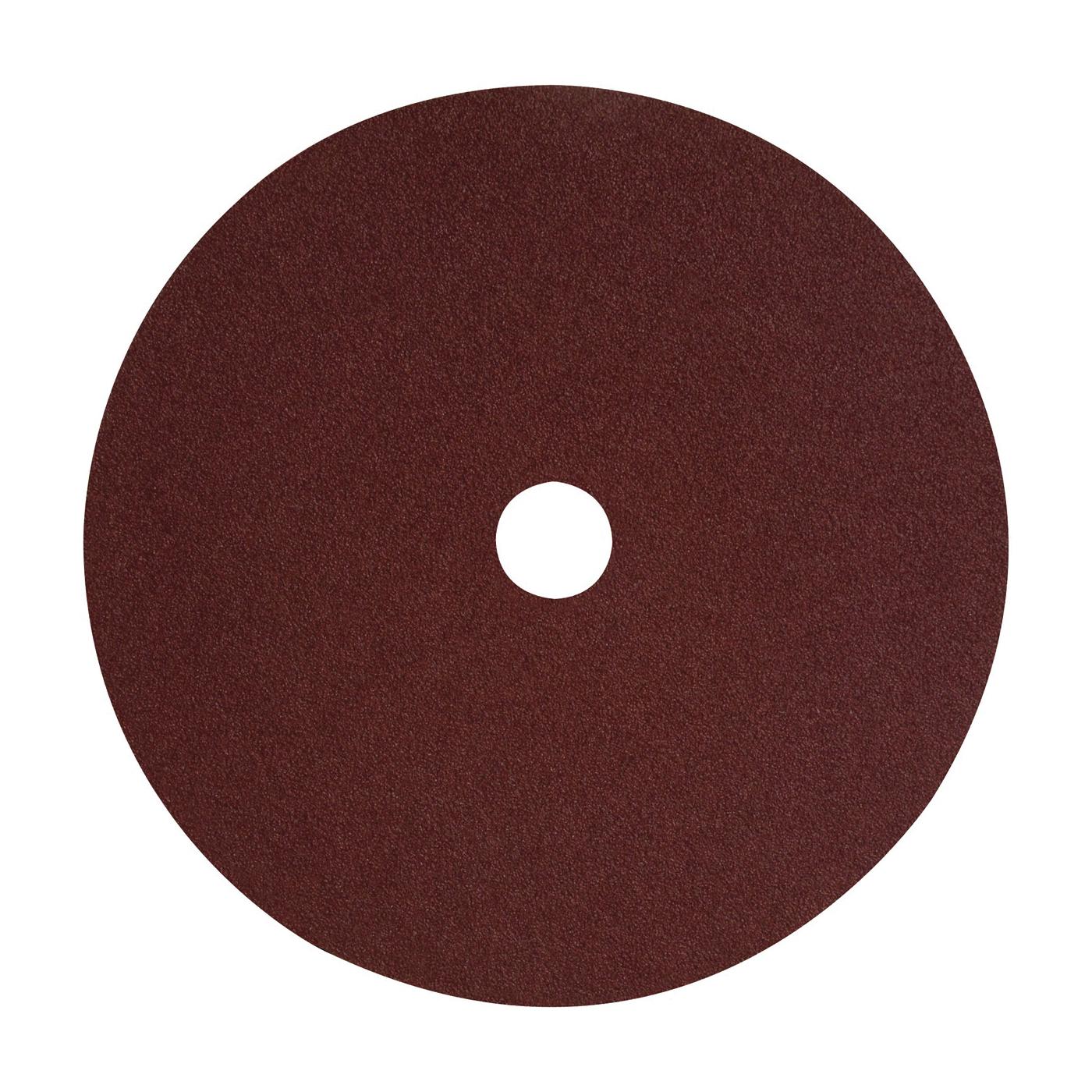 Picture of DeWALT DARB1G0225 Fiber Disc, 4-1/2 in Dia, 7/8 in Arbor, Coated, 24 Grit, Aluminum Oxide Abrasive, Fiber Backing