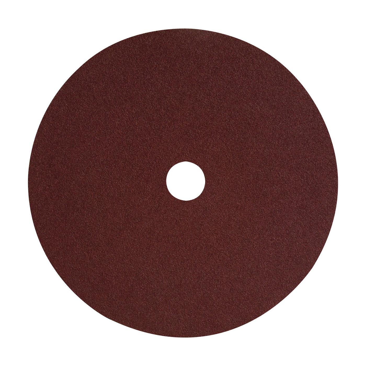 Picture of DeWALT DARB1G0625 Fiber Disc, 4-1/2 in Dia, 7/8 in Arbor, Coated, 60 Grit, Aluminum Oxide Abrasive, Fiber Backing