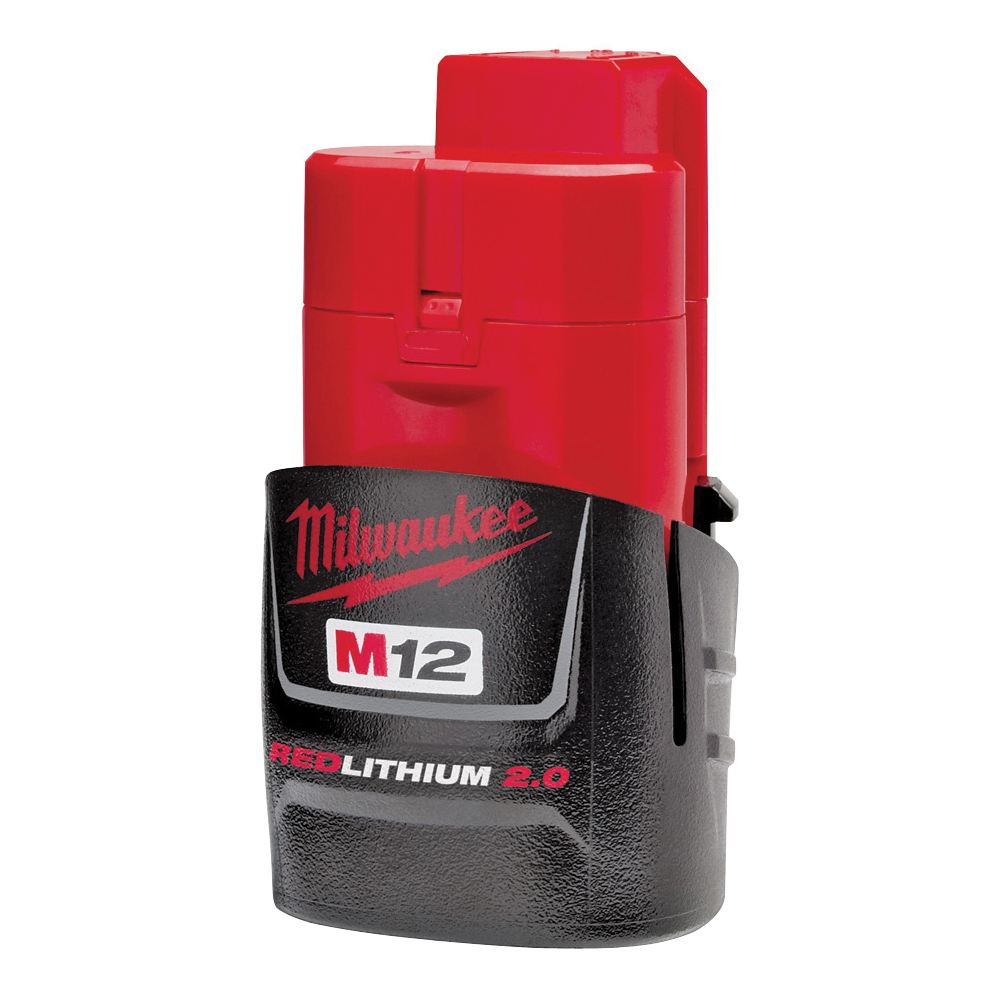 Picture of Milwaukee 48-11-2420 Battery Pack, 12 V Battery, 2 Ah