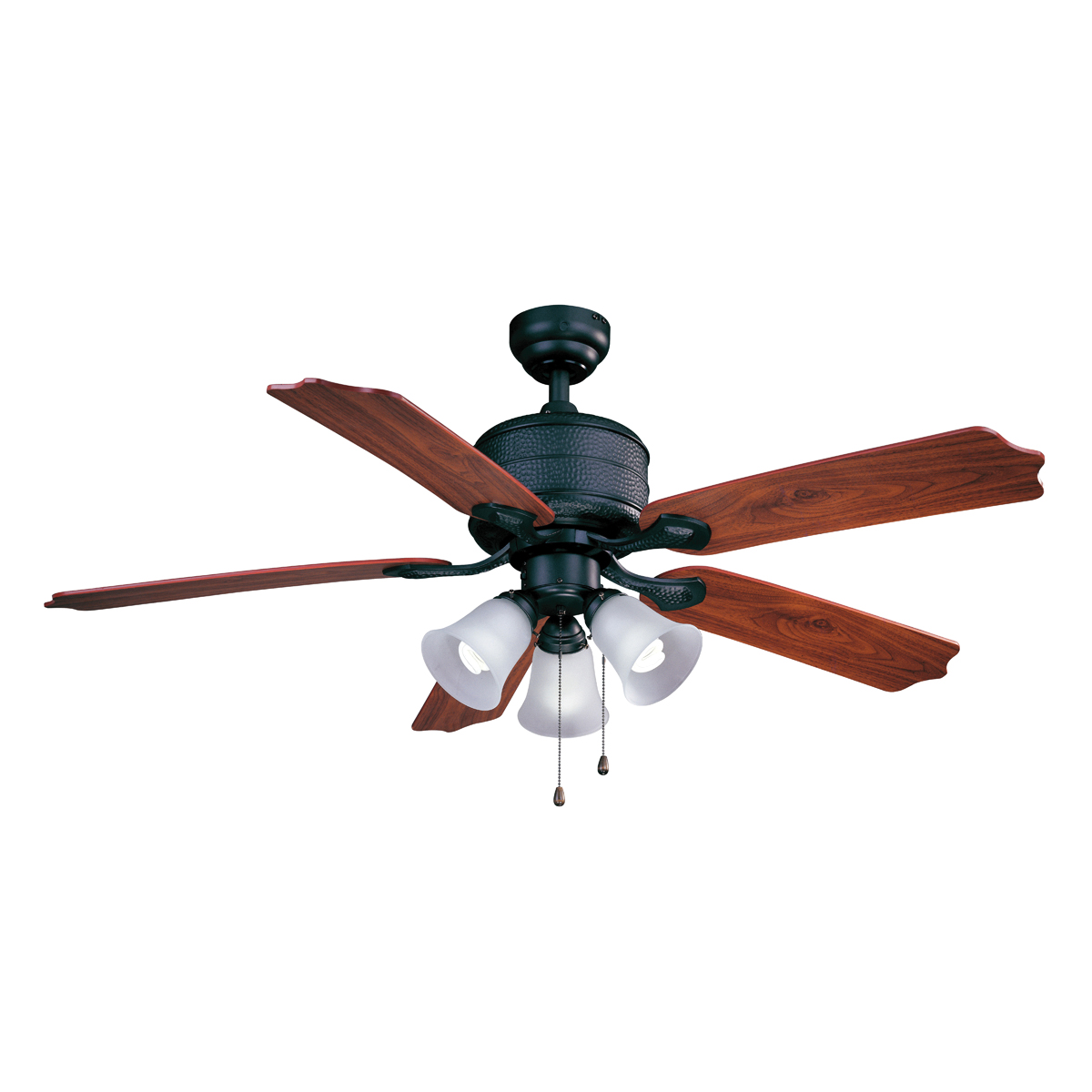 Picture of Boston Harbor AC362+3L-NI-3L Ceiling Fan, 120 V, 5-Blade, 52 in Sweep