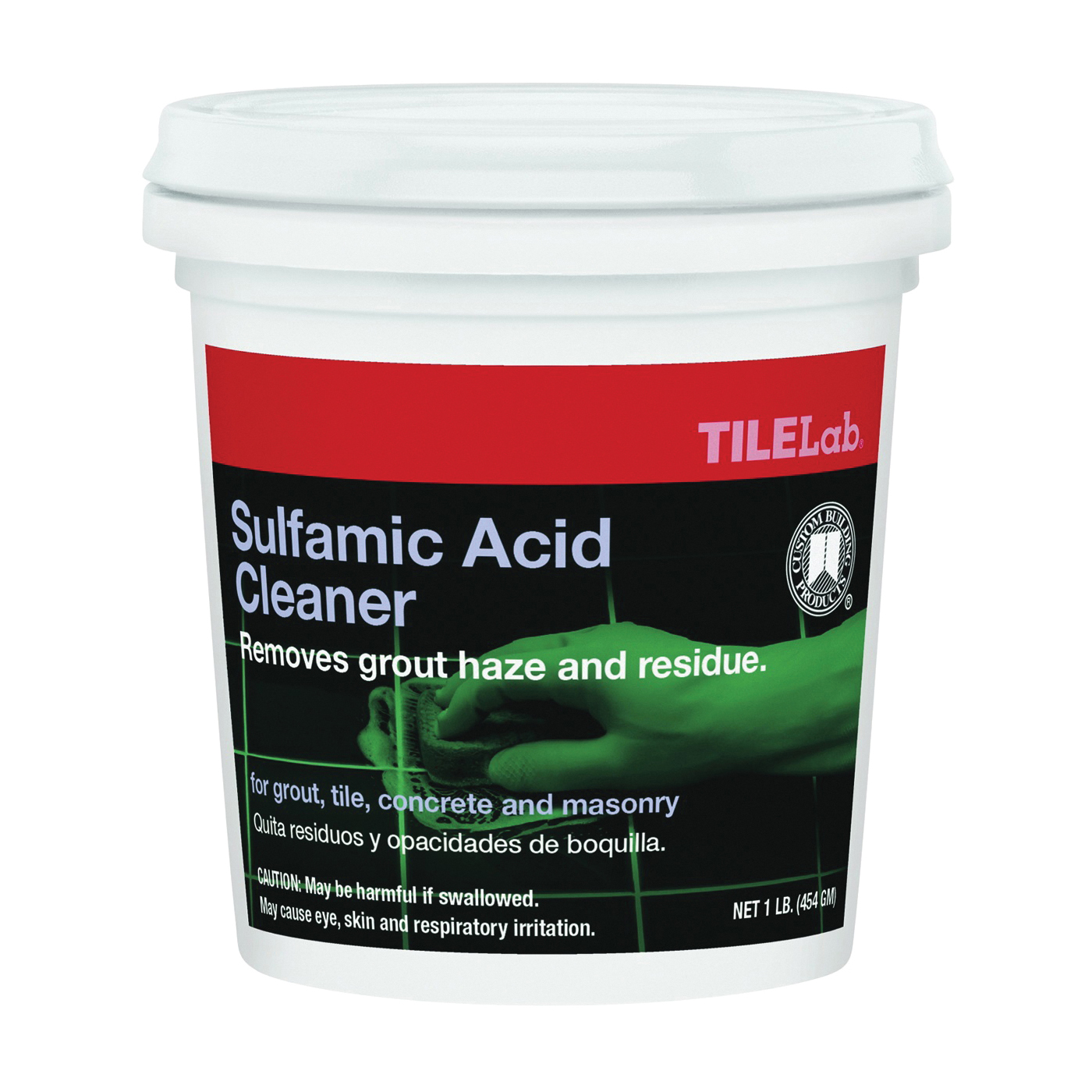 Picture of CUSTOM TLSACRA1 Sulfamic Cleaner, 1 lb Package, Pail, Crystalline Solid, Characteristic