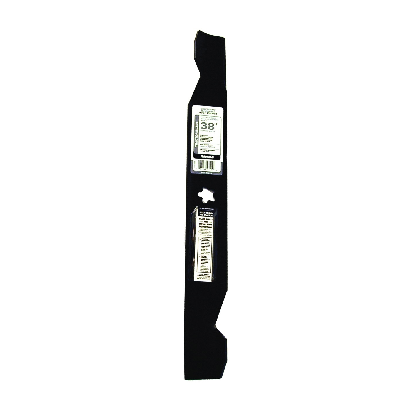 Picture of ARNOLD 490-110-0025 Lawn Mower Blade, 19-5/16 in L