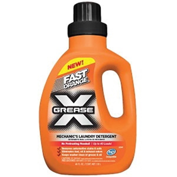Picture of Permatex Fast Orange 22340 Mechanics Laundry Detergent, 40 fl-oz, Bottle, Liquid, Citrus