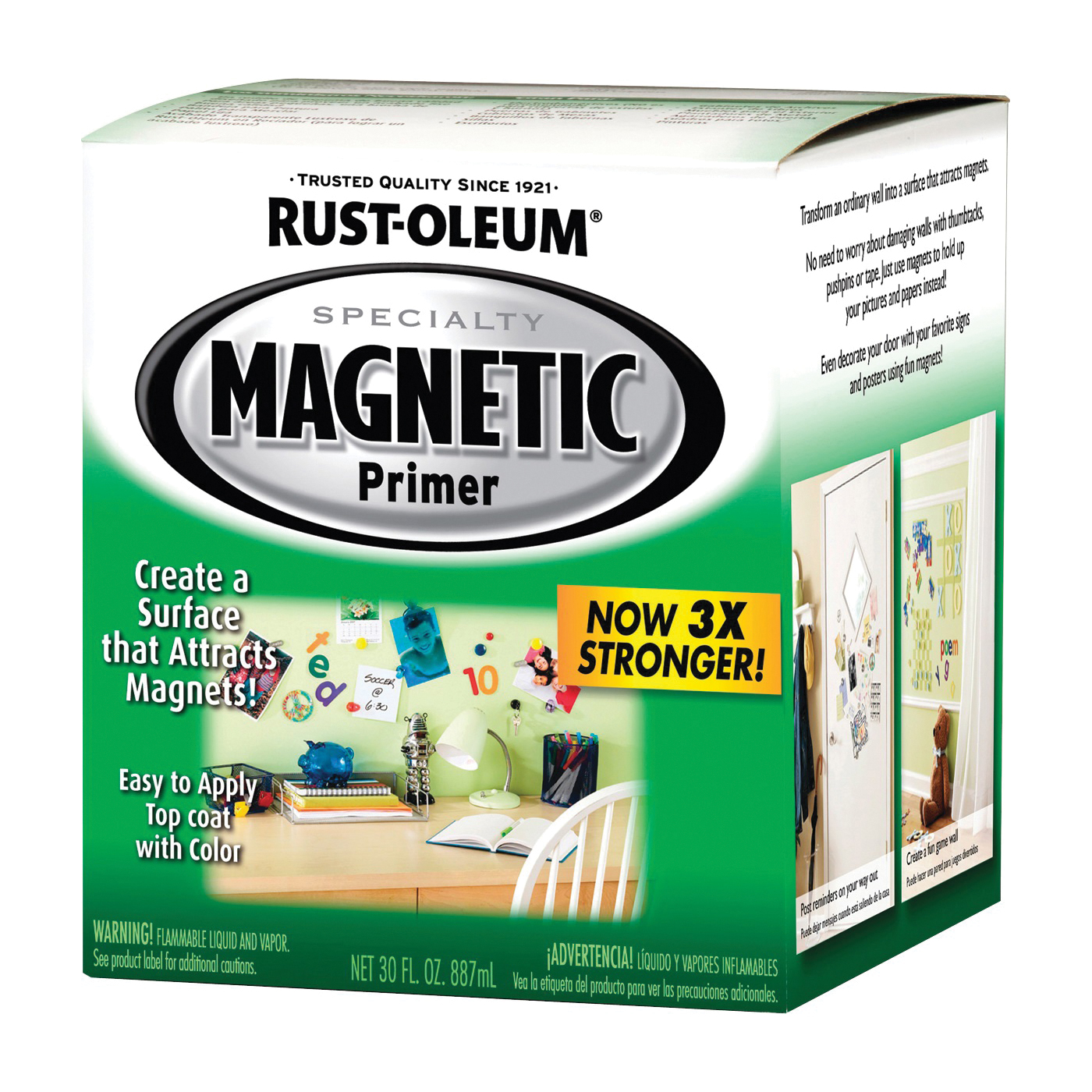 Picture of RUST-OLEUM SPECIALTY 247596 Magnetic Primer, Smooth, Liquid, 1 qt, Can