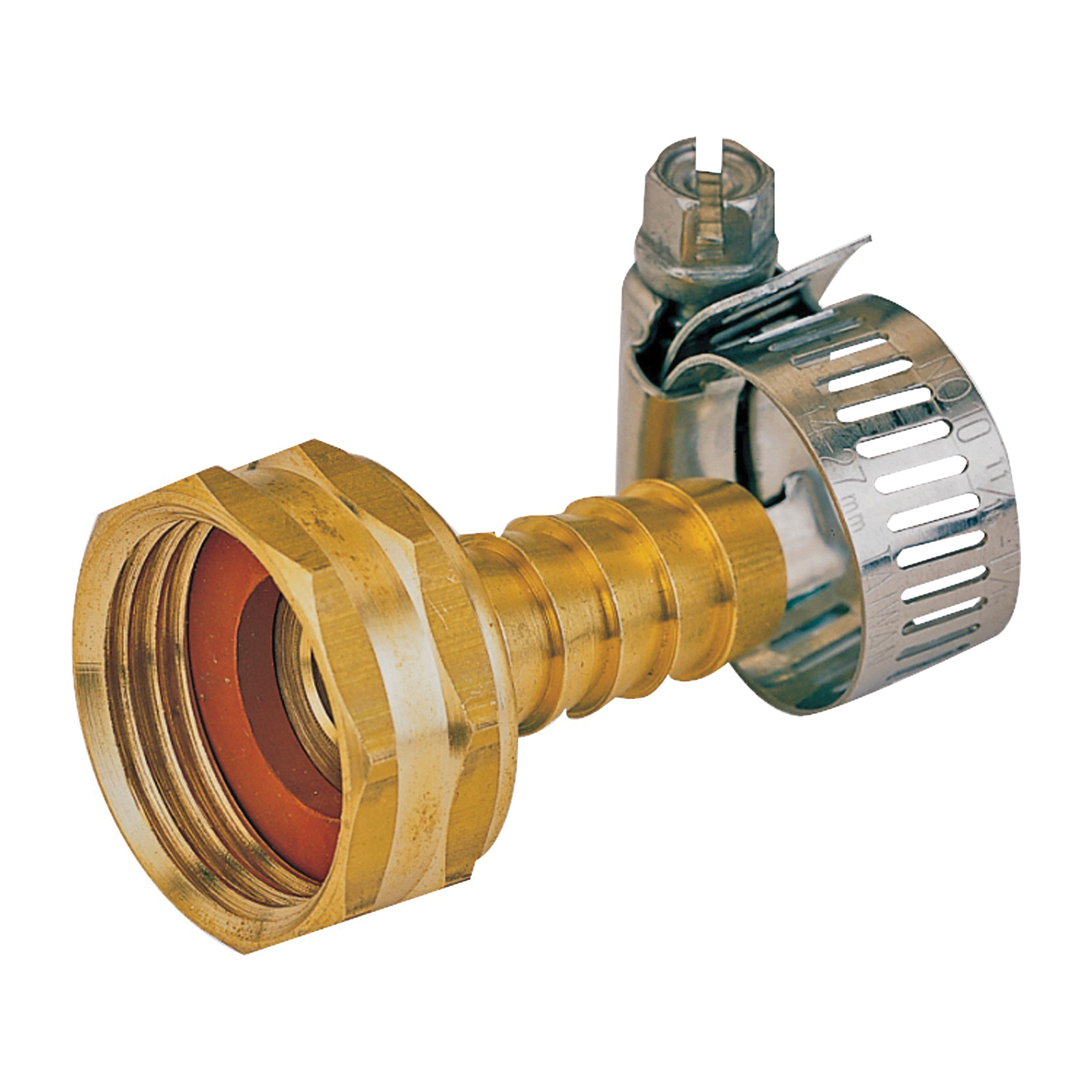 Picture of Landscapers Select GB934F3L Hose Coupling, 1/2 in, Female, Brass, Brass